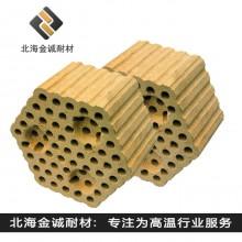 黏土质格子砖  热风炉用黏土砖  河南耐火砖厂家