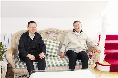 采访国务院参事蒋明麟