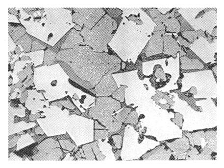 熔铸镁铬耐火材料的显微结构分析结果