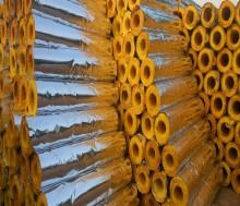 消防管道上下水管用保温隔热离心高温玻璃棉管壳 另售保温涂料