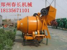 JZC350、500、750滚筒自落式混凝土搅拌机,齿圈传动