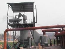 耐火材料用1.8米单段式煤气发生炉 2.4米双段式煤气发生炉