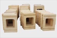 竖炉用导风墙特种异型砖 支持定制