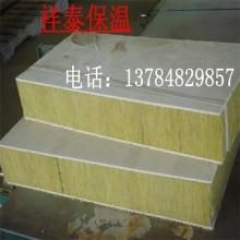 厂家供应岩棉板 岩棉防火隔离带高密度机制2cm厚复合板