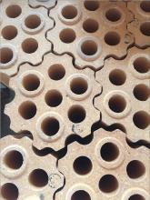 七孔格子砖供应