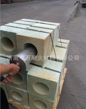 透气砖 高性能钢包透气砖长期供应炼钢用钢包透气砖
