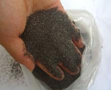 喷砂用一级棕刚玉